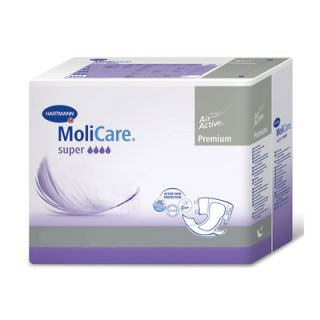Hartmann Molicare Premium Soft Super Night Incontinence Pads Small 30 Items