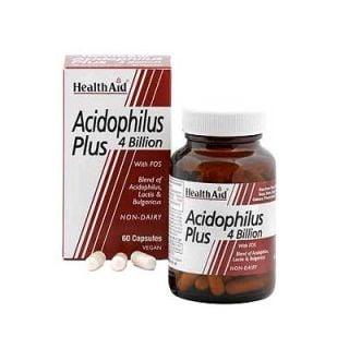 Health Aid Acidophilus Plus 4billion 60 Vecaps Probiotic