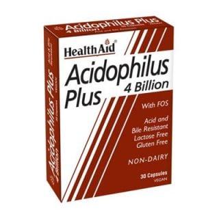 Health Aid Acidophilus Plus 30 Vecaps Probiotic