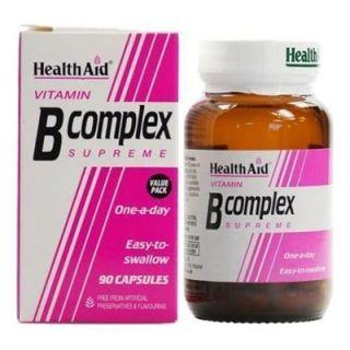 Health Aid B Complex Supreme 90 Caps