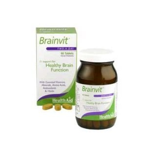 Health Aid Brainvit for Memory 60 Tabs