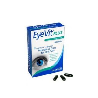 Health Aid Eye Vit Plus 30 Caps Vision Care