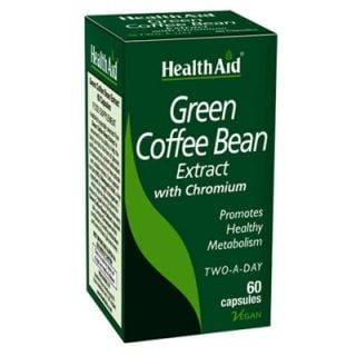 Health Aid Green Coffee Bean Extract 60 Caps