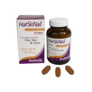 Health Aid Hairskinail Hair, Skin & Nails 30 Tabs Μαλλιά - Δέρμα - Νύχια