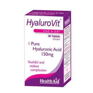 Health Aid Hyalurovit 150mg 30 Tabs Hyaluronic Acid