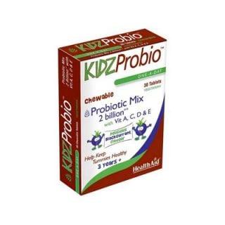 Health Aid Kidzprobio 30 Chewable Tabs