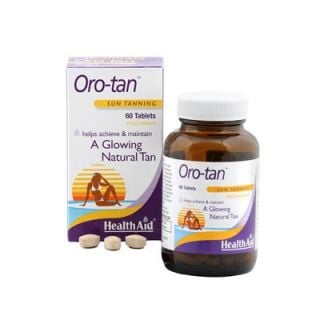 Health Aid Oro-Tan 60 Tabs