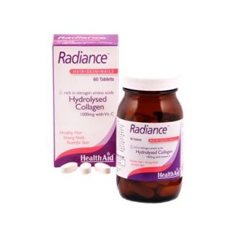 Health Aid Radiance Hydrolysed Collagen 1000mg with Vit.C 60 Tabs Κολλαγόνο