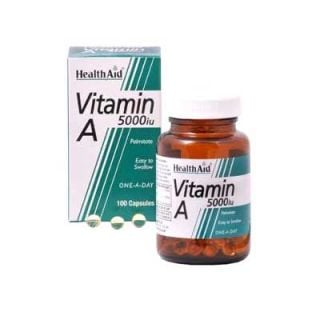 Health Aid Vitamin A 5000iu 100 Caps Βιταμίνη Α