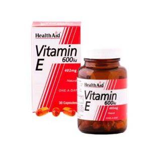 Health Aid Vitamin E 600iu 60 Caps