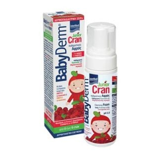 InterMed Babyderm Junior Cran 150ml for Boys and Girls 0-6 Years Old
