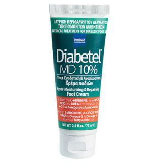 InterMed Diabetel MD 10% 75ml Cream for Diabetic Foot