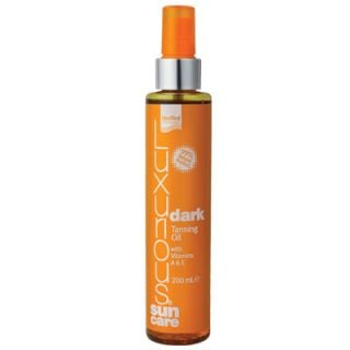 InterMed Luxurious Sun Care Dark Tanning Oil 200ml