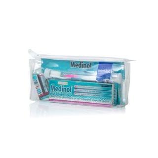 InterMed Πακέτο Medinol Mouthwash 60ml Στοματικό Διάλυμα + Οδοντόκρεμα 100ml + Οδοντόβουρτσα Professiοnal Care 1 Τεμάχιο