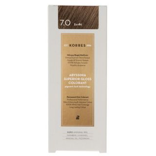 Korres Abyssinia Superior Gloss Colorant 50ml Hair Colorant 7.0 Blonde