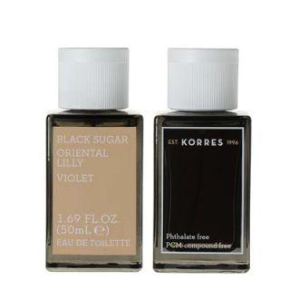 Korres Black Sugar - Oriental Lily - Violet Eau de Toilette for Woman 50ml