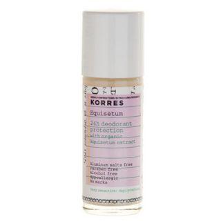 Korres Equisetum Deodorant 30ml Depilated Skin