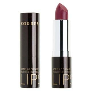 Korres Morello Creamy Lipstick 3.5ml Ν.28 Bright Purple