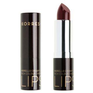 Korres Morello Creamy Lipstick 3.5ml Ν.59 Κόκκινο της Βουργουνδίας Κραγιόν