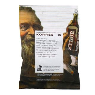 Korres Pastilles with Aromatic Plants, Honey and Stevia 16 Items