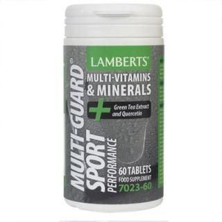 Lamberts Multi Guard Sport 60 Tabs Πολυβιταμινούχο για Αθλητές
