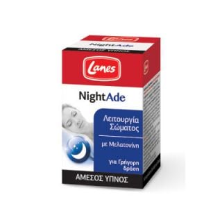 Lanes NightAde 90 Tabs for Better Sleep