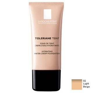 La Roche Posay Toleriane Teint Creme D'Eau Hydratante 30ml Make up 02 Light Beige for Normal and Dry Skin