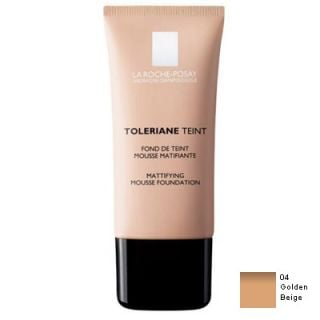La Roche Posay Toleriane Teint Mattifying Mousse 30ml Make-up 04 Golden Beige for Oily and Combination Skin