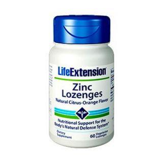 Life Extension Zinc Lozenges 24mg 60 Lozenges