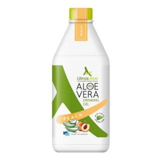 Litinas Aloe Vera Drinking Gel Peach 1000ml