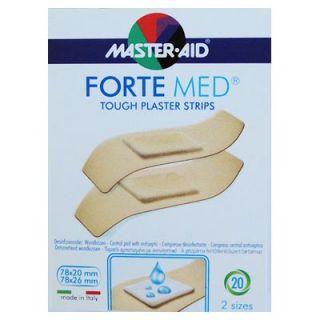 Master Aid Forte Med 20 Τεμάχια Strips (Στενά και Φαρδιά)