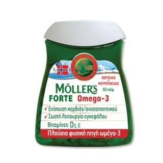 Nature's Plus Moller's Forte Omega-3 60 Caps