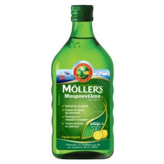 Nature's Plus Moller's Lemon 250ml