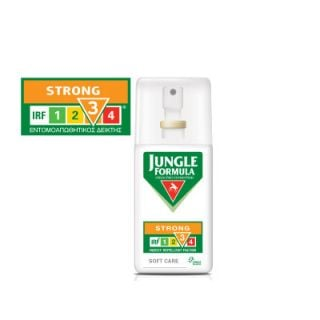 Jungle Formula Strong Soft Care 75ml Antirepellent Spray Without Alcohol