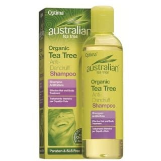 Optima Australian Organic Tea Tree Anti-Dandruff Shampoo 250ml