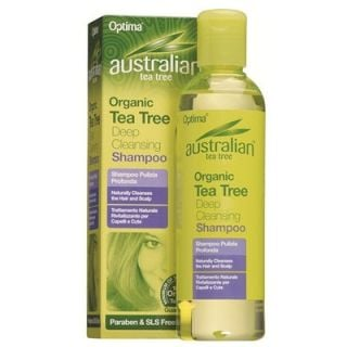 Optima Australian Organic Tea Tree Deep Cleansing Shampoo 250ml Σαμπουάν με Έλαιο Τεϊόδεντρου
