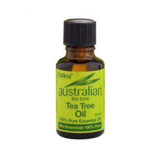 Optima Australian Tea Tree Antiseptic Oil 25ml Αντισηπτικό Έλαιο Τεϊόδεντρου