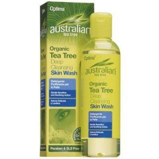 Optima Australian Tea Tree Deep Cleansing Skin Wash 250ml Καθαριστικό Σώματος με Έλαιο Τεϊόδεντρου