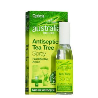 Optima Australian Tea Tree Antiseptic Spray 30ml Αντισηπτικό Σπρέυ με Έλαιο Τεϊόδεντρου