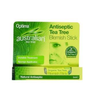 Optima Australian Tea Tree Antiseptic Blemish Stick 7ml Αντισηπτικό Στικ με Έλαιο Τεϊόδεντρου