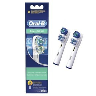 Oral-B Dual Clean Replacement Heads 2 Items