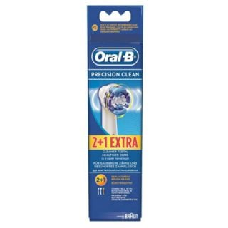 Oral-B Professional Clean Precision Clean Spare Parts for Electric Toothbrush 2 + 1 Extra