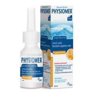 Physiomer Hypertonic Nasal Spray for Kids 2+ - Adults 20ml Pocket Size