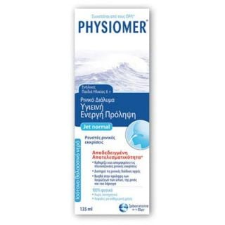 Physiomer Jet Normal Isotonic Nasal Spray for Kids 6+ - Adults 135ml