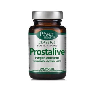 Power Health Classics Platinum Prostalive 30 Caps για τον Προστάτη