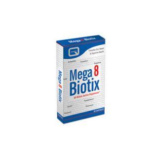Quest Mega 8 Biotix 30 Caps 8 Different Probiotics