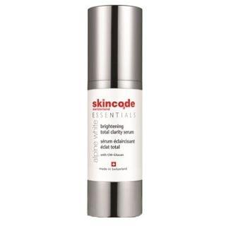 Skincode Alpine White Brightening Total Clarity Serum 30ml Λευκαντικός Ορός