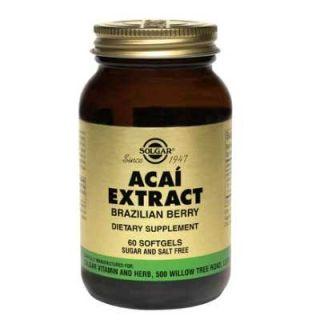 Solgar Acai Extract 60 Softgels