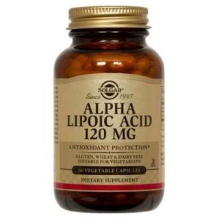 Solgar Alpha Lipoic Acid 120mg 60 Caps