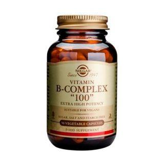 Solgar B-Complex 100 50 Caps